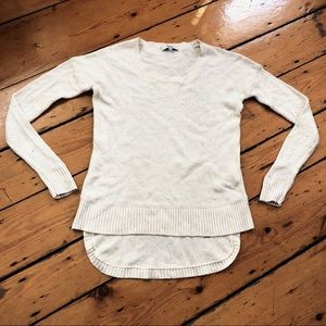 Madewell Chronicle Texture Pullover cream white XS